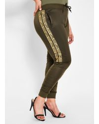 f6ee58471dbd Lyst - INC International Concepts Plus Size Ruched Linen Cargo Pants ...