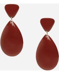 Ashley Stewart - Plus Size Multi Shape Drop Earrings - Lyst
