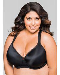256ee9e1de Ashley Stewart - Plus Size Full Coverage Butterfly Bra - Lyst