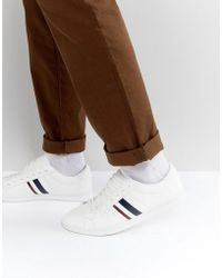 Pull&Bear | Trainers With Stripes In White | Lyst