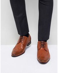 New Look - Brogues In Tan - Lyst