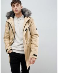 D-Struct - Fur Trimmed Oversized Mountain Parka Durable Poly - Lyst