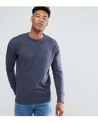 SELECTED - Sweatshirt With Drop Shoulder Detail - Lyst