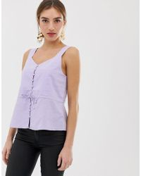 b7e7bda13b2204 Y.A.S Cosa Sleeveless Top in Purple - Lyst