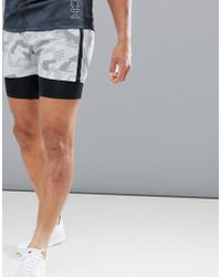Jack & Jones - Core Performance Short With Base Layer - Lyst