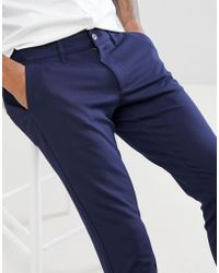 Only & Sons - Slim Fit Trousers - Lyst