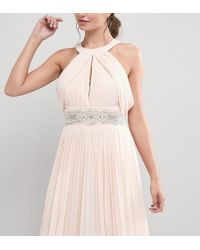TFNC London | Wedding Wide Sash Belt With Delicate Embellishment | Lyst
