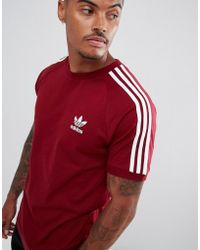 adidas Originals - California T-shirt In Red Dh5810 - Lyst