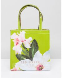 Ted Baker - Small Icon Bag In Chatsworth Bloom - Lyst