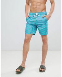 bfd9192c9a Wrangler Blue And Yellow Swim Shorts - Mens L in Yellow for Men - Lyst