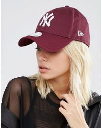 KTZ - 9 Forty Cap In Berry - Lyst