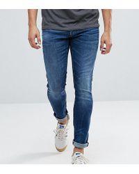 G-Star RAW - Tall 3301 Deconstructed Super Slim Jeans Midwash - Lyst