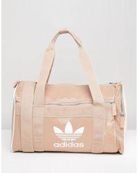 adidas Originals - Travel Bag With Trefoil Logo - Lyst