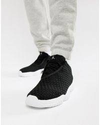 Nike - Nike Air Future Low Trainers In Black 718948-002 - Lyst