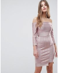 French Connection - Bandage Bodycon Dress - Lyst