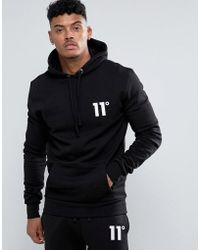11 Degrees - Hoodie With Logo - Lyst