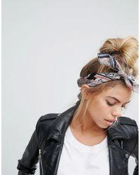 ASOS - Patchwork Print Bandana Neckerchief/headscarf - Lyst