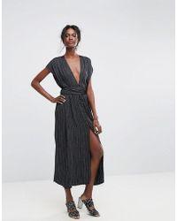 Bec & Bridge - Blackbird Maxi Stripe Dress - Lyst
