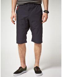 55dsl - Pitboss Drop Crotch Chino Shorts - Lyst