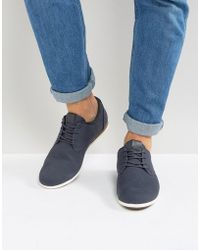 ALDO - Aauwen Lace Up Shoes In Navy - Lyst