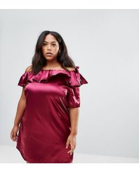 Madam Rage - One Shoulder Dress With Bow Detail - Lyst