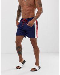 f2e5330a5d Speedo Retro Leisure 14 Inch Swim Shorts in White for Men - Lyst