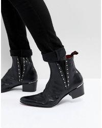 Jeffery West - Murphy Studded Boots - Lyst