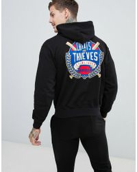 Cheats & Thieves - Established Back Print Hoodie - Lyst