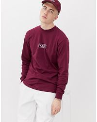4b449a871e Vans Oversized Long Sleeve T-shirt In Yellow Exclusive To Asos in ...