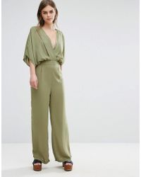 Oeuvre - Oeurve Kimono Sleeve Jumpsuit - Lyst