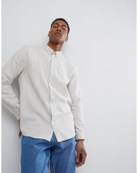 Weekday | Seattle Two Tone Shirt | Lyst