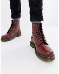 Dr. Martens - Original 8-eye Boots In Red 11822600 - Lyst