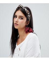 Rock N Rose - Leopard Print Headscarf - Lyst