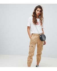 Bershka - Pantalon cargo utilitaire - Lyst