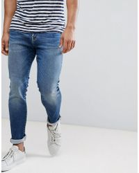 SELECTED - Stretch Slim Fit Jeans Made In Italy - Lyst