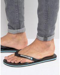 Quiksilver - Molokai Flip Flops - Lyst