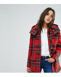 Gloverall - Exclusive Check Duffle In Royal Stewart Tartan - Lyst