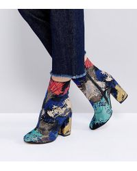 ASOS - Elate Wide Fit Ankle Boots - Lyst