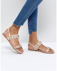 Faith - Baubles Flat Sandals - Lyst