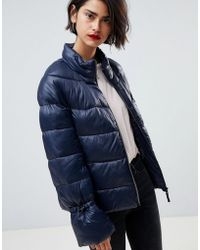 Vero Moda - Padded Coat - Lyst