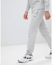 Champion - Reverse Weave Joggers With Small Logo Grey - Lyst