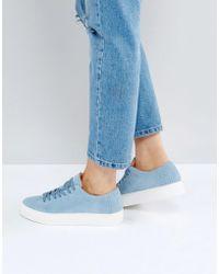 SELECTED - Suede Sneaker - Lyst