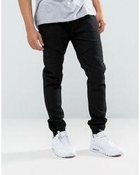 Loyalty & Faith - Loyalty And Faith Garrett Jogger Jeans In Black - Lyst