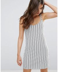 A State Of Being - Elevate Stripe Cami Dress - Lyst