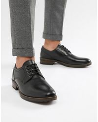 Red Tape - Elcot Lace Up Brogue Shoes In Black - Lyst
