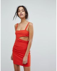 Bec & Bridge - Rouge Cut Out Mini Dress - Lyst
