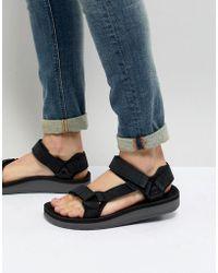 Teva - Original Universal Premier Leather Sandals - Lyst