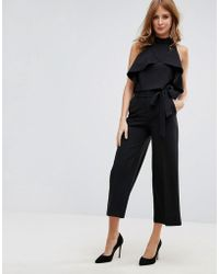 Millie Mackintosh - Sloan Culottes With Wrap Front - Lyst