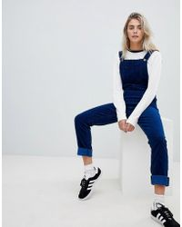Lee Jeans - Overall In Corduroy - Lyst