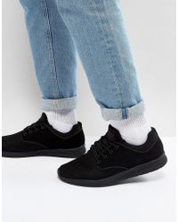 Pull&Bear | Trainers With Mesh In Black | Lyst
